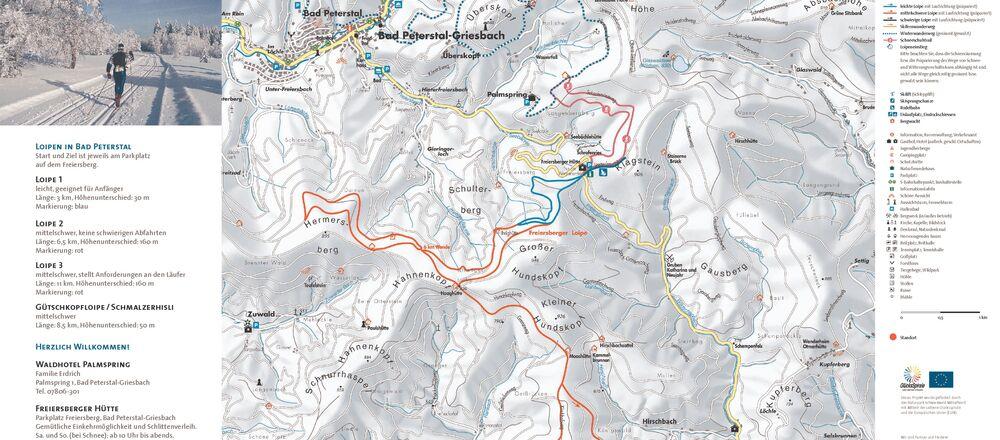 Loipenplan Oberwolfach