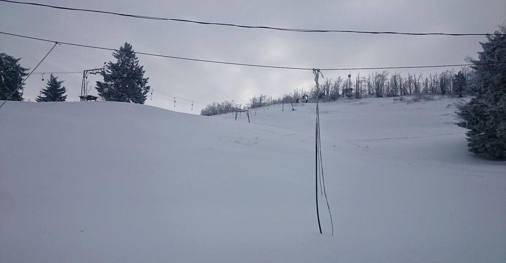 Piste map Ski resort Vojsko