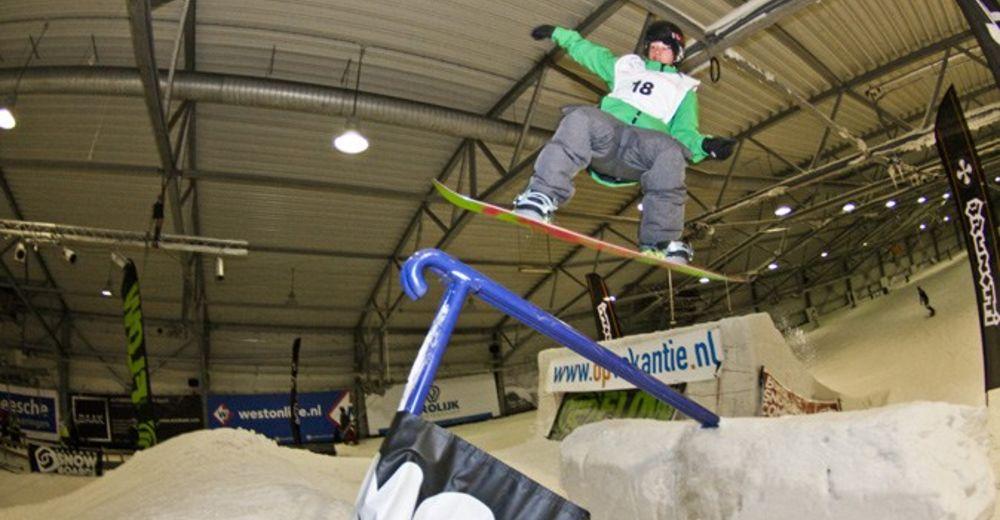 Pisteplan Skigebied De Uithof / Den Haag