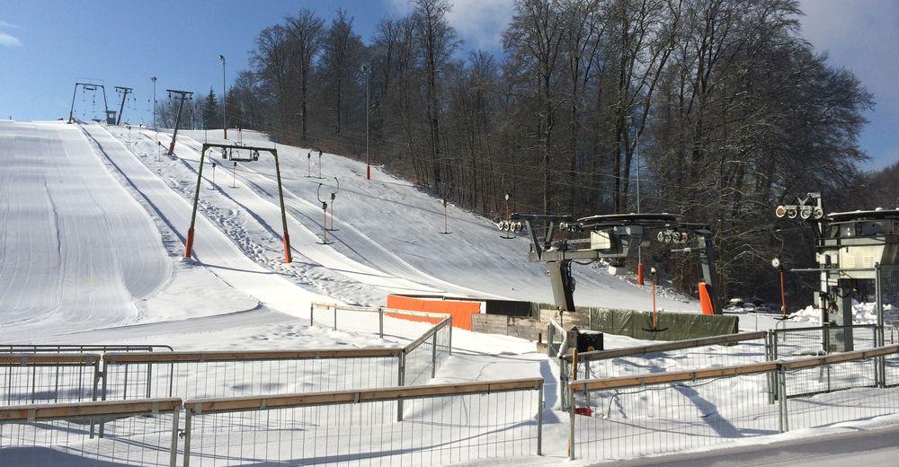 Plan skijaških staza Skijaško područje Albstadt - Onstmettingen / Ruchtal