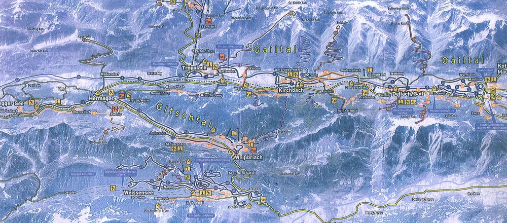 Loipenplan Kirchbach