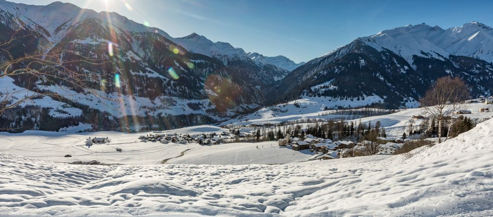 Loipenplan Val Lumnezia