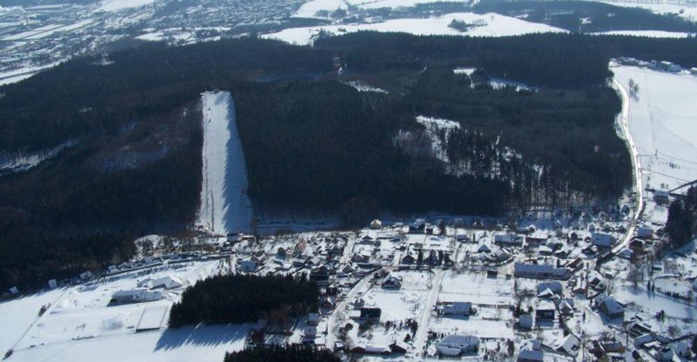 План лыжни Лыжный район Šacberk / Zborná