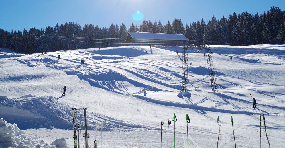 Pisteplan Skigebied Sibratsgfäll - Krähenberg