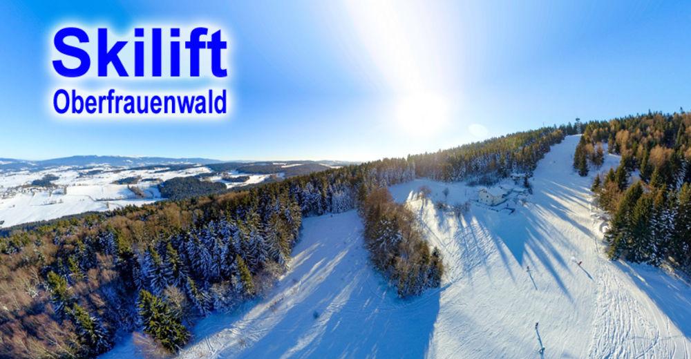 Pistenplan Skigebiet Oberfrauenwald / Waldkirchen