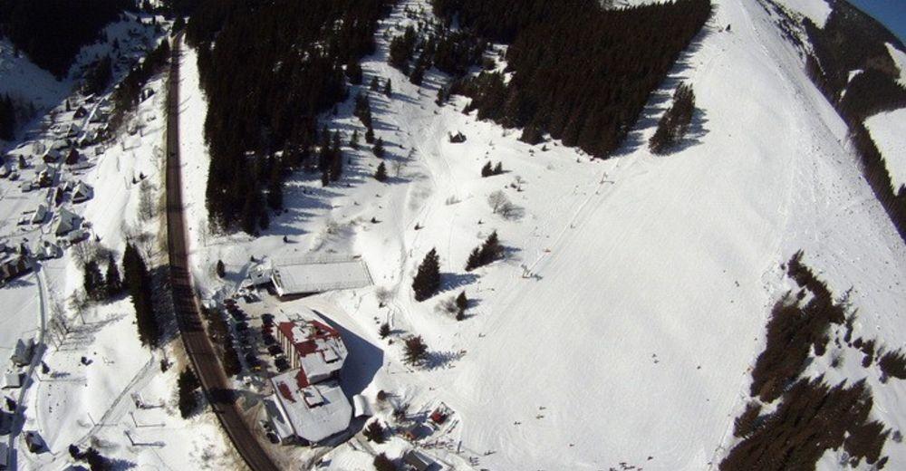 Plan de piste Station de ski Ski centrum Bačova roveň