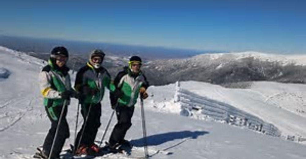 Pistplan Skidområde Valdesquí