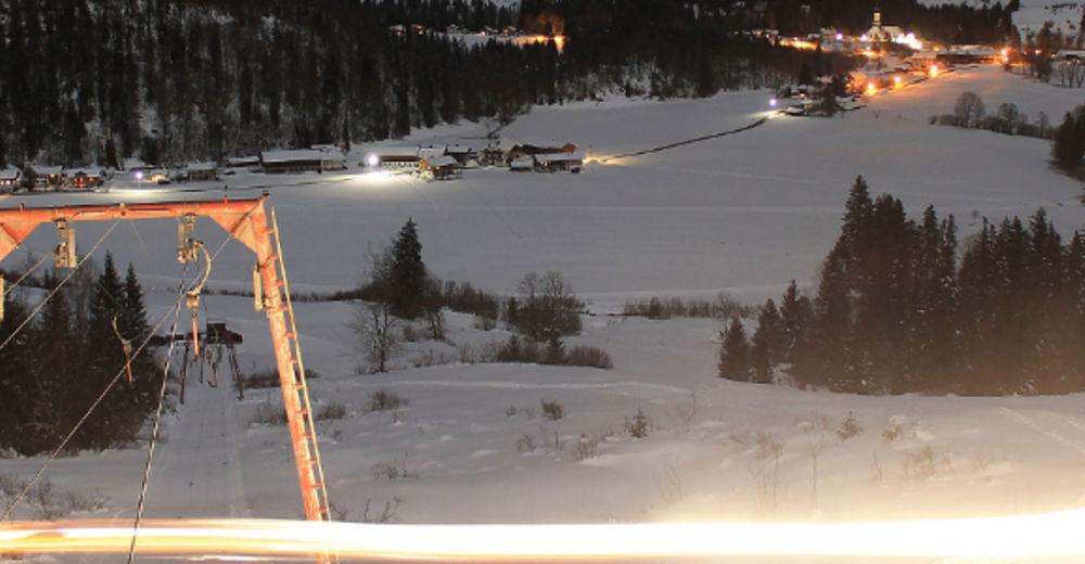 Pistenplan Skigebiet Jachenau / Skilift Mühle