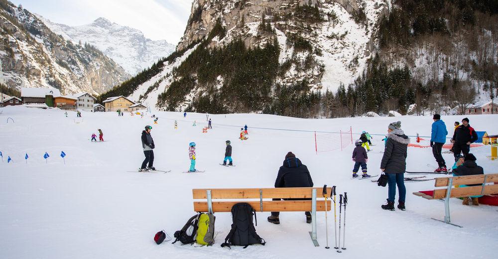 Bakkeoversikt Skiområde Unterschächen