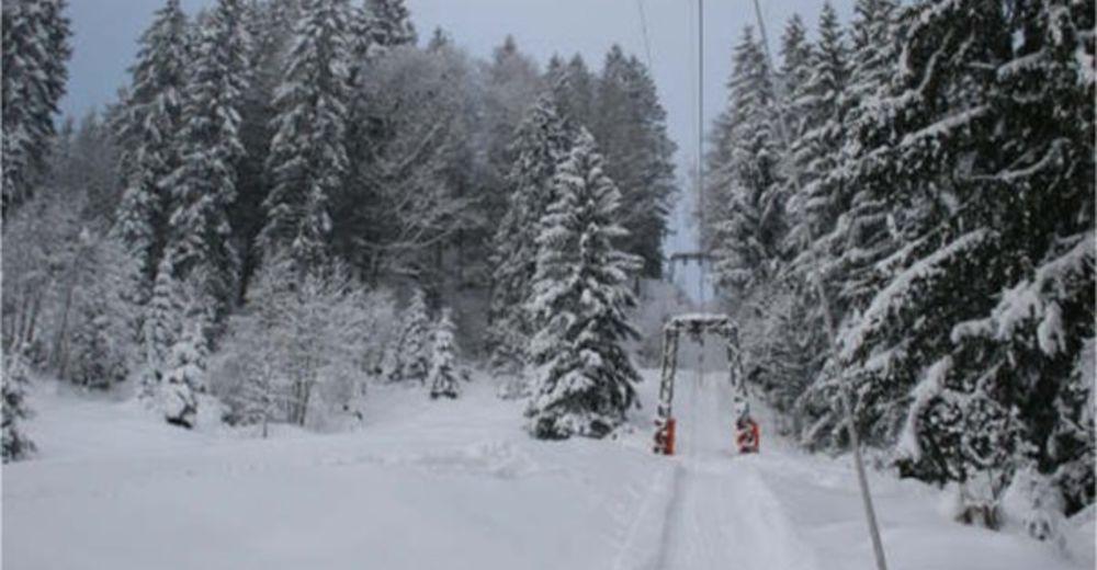 Pistenplan Skigebiet Wägital  - Vorderthal