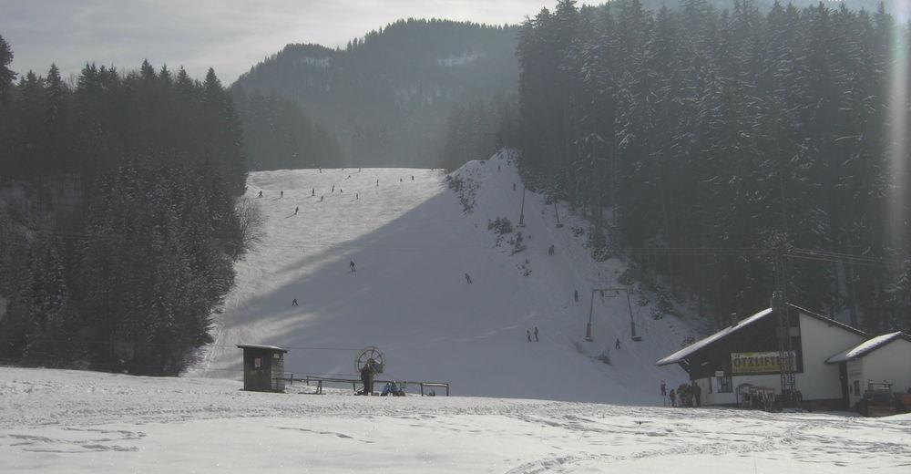 Pistenplan Skigebiet Ötzlifte Kochel - Rabenkopf