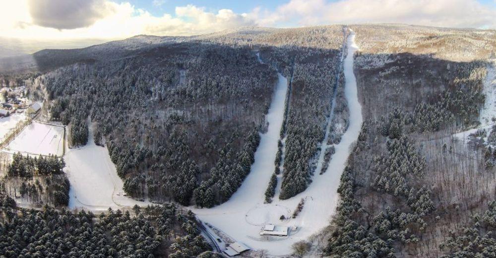 Plan skijaških staza Skijaško područje Voithenberg Gibacht