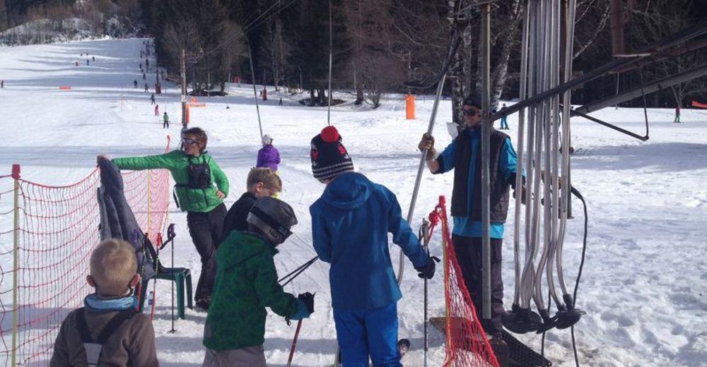 Plan skijaških staza Skijaško područje Les Chosalets