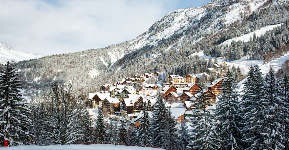 Plan de piste Station de ski Oz en Oisans - Alpe d'Huez Grand Domaine