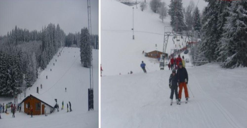 Pistenplan Skigebiet St. Georgen - Schloßberg