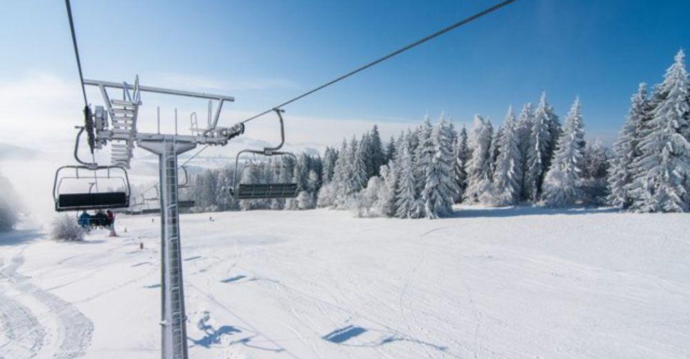 Plán sjezdovky Lyžařská oblast Čerťák / Ski Karlov