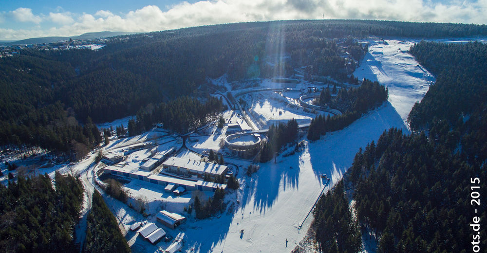 Pistplan Skidområde Oberhof / Fallbachlift - Alte Golfwiese