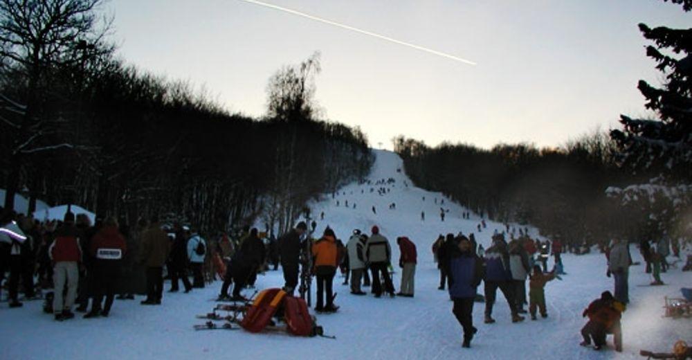 Plan skijaških staza Skijaško područje Schiwiese Scheiterberg / Mannersdorf