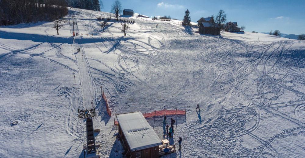 Plano de pista Estación de esquí Oberhelfenschwil