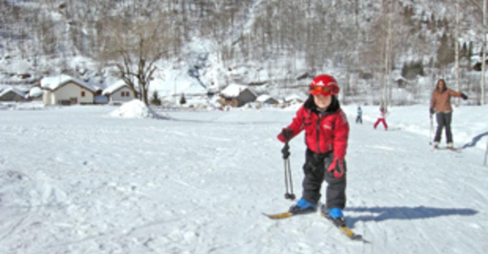 Bakkeoversikt Skiområde Rossa