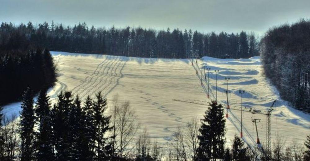 Pistenplan Skigebiet Hochberg in Heidenheim
