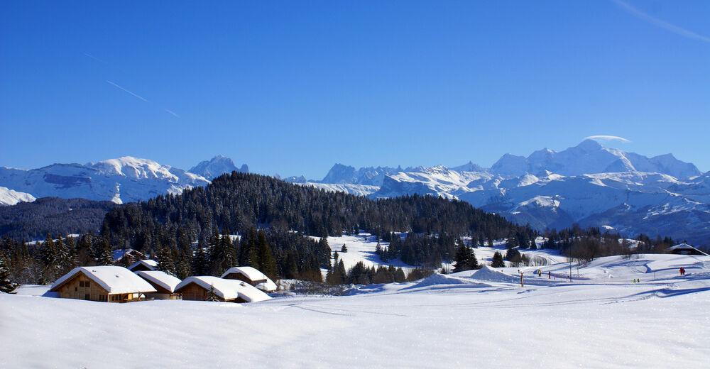 Piste map Ski resort Praz de Lys Sommand