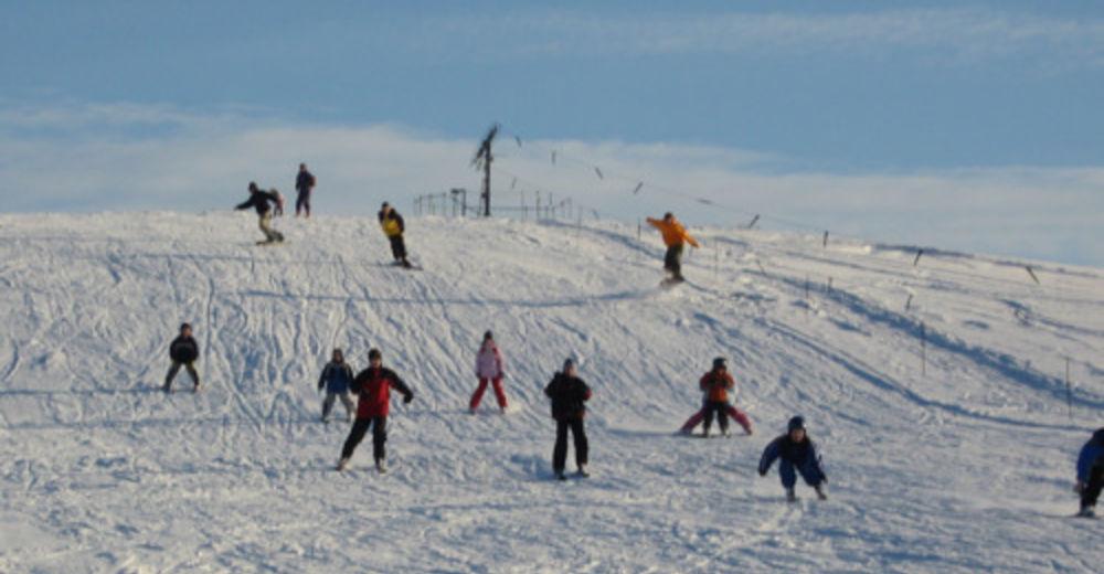 Pistenplan Skigebiet Skilift Haßlach