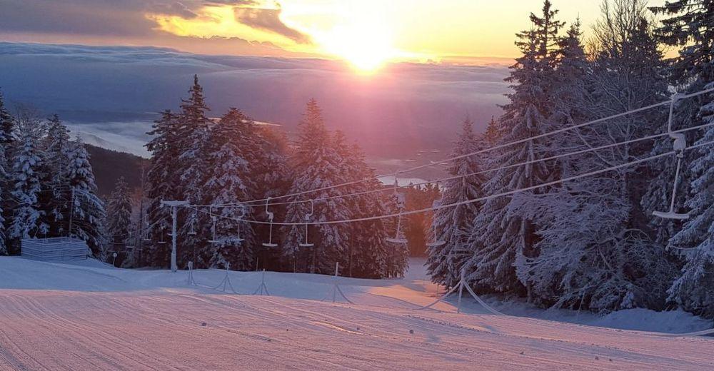 Planul pistelor Zonă de schi Trije Kralji