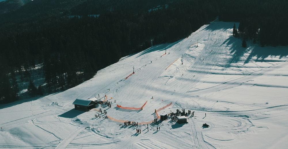 Planul pistelor Zonă de schi Skilift in Griminitzen