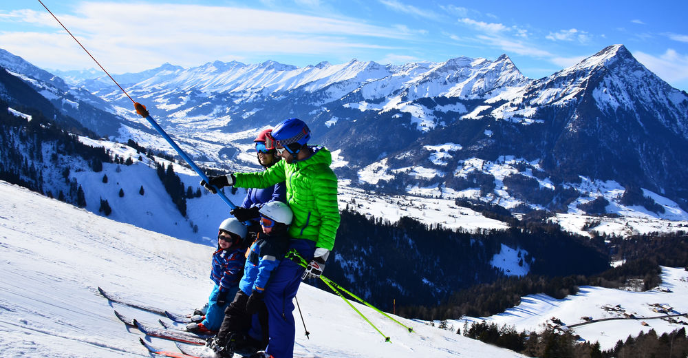 Planul pistelor Zonă de schi Aeschi