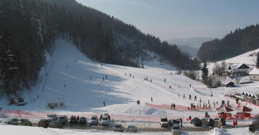 Bakkeoversikt Skiområde Kandrše