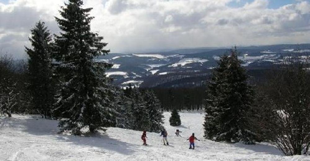 Pisteplan Skiområde Meißner / Eschwege