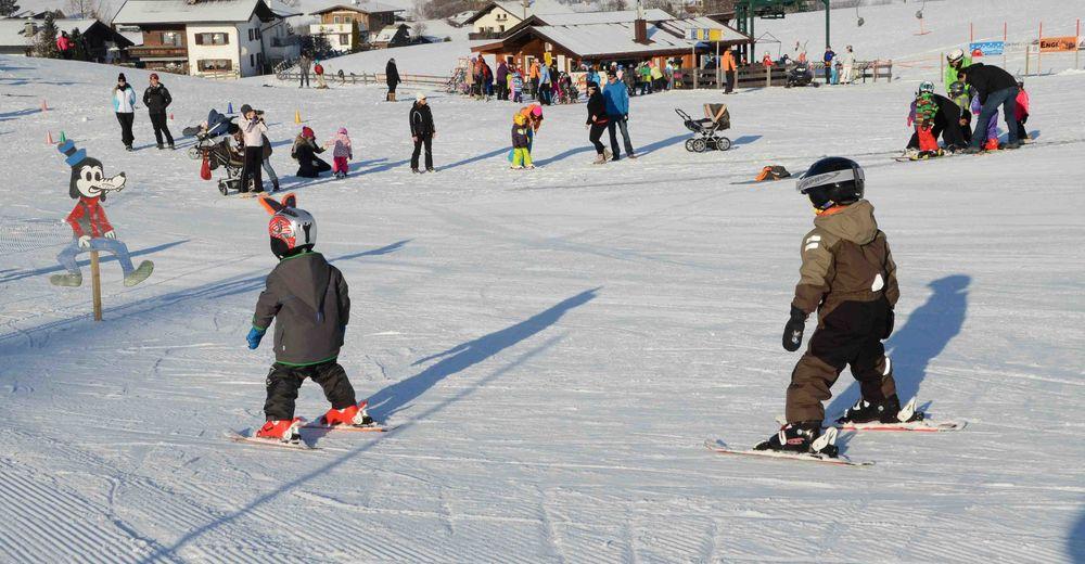 Planul pistelor Zonă de schi Hochfeldlift - Schwoich