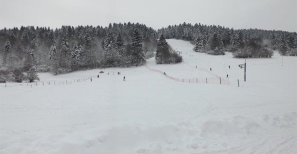 Piste map Ski resort La Cernay Blanche – La Chaux de Gilley