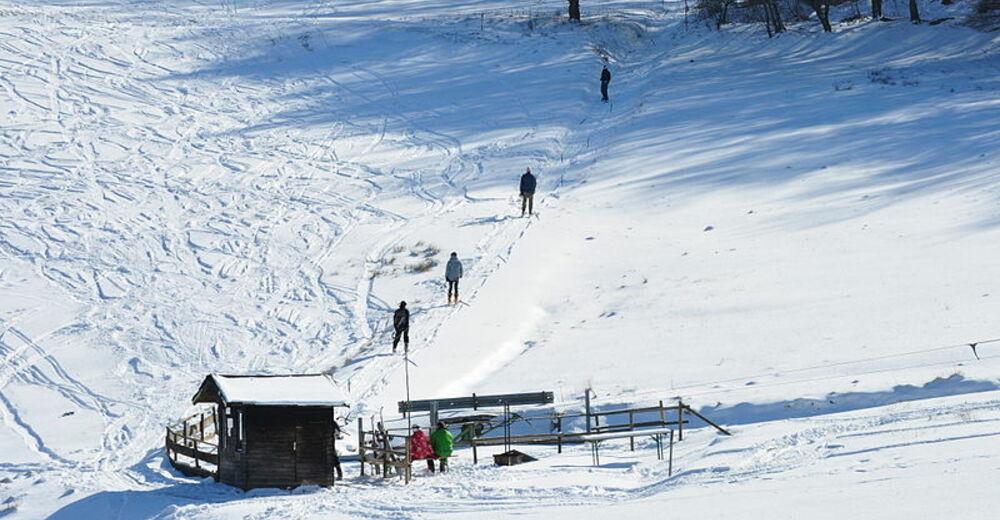 Rinnekartta Hiihtoalue Skilift Treisberg / Pferdskopf