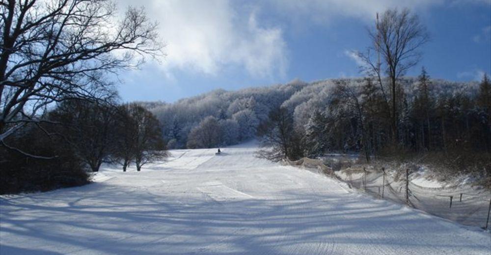 Pistenplan Skigebiet Hesselberg