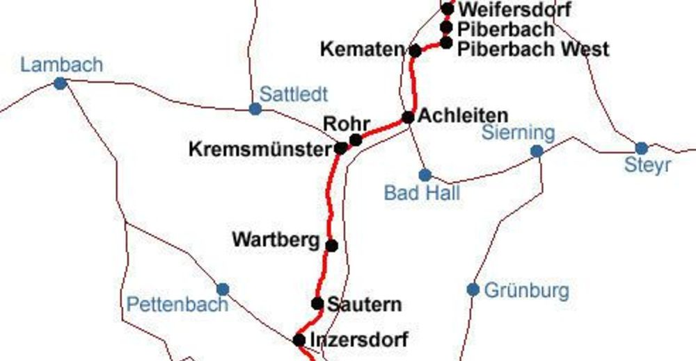 Kremstalweg R10 BERGFEX Radfahren Tour Oberösterreich