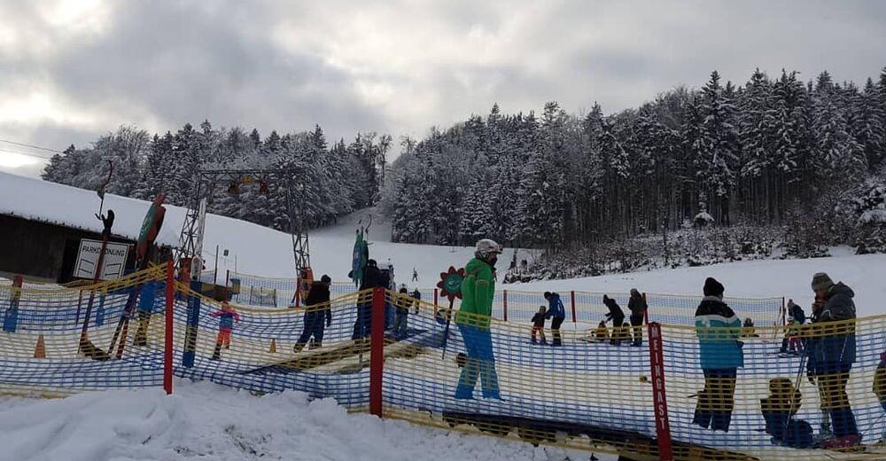 Plán sjezdovky Lyžařská oblast Waldzell