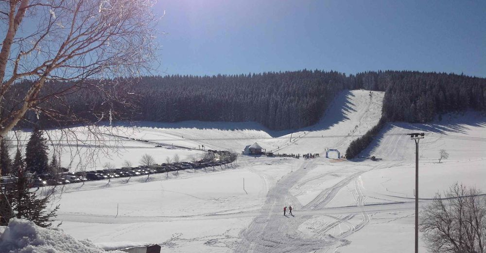 Pistenplan Skigebiet Schönwald - Rössle Skilift