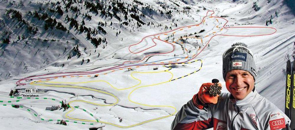 Loipenplan Sportgastein - Ski amade