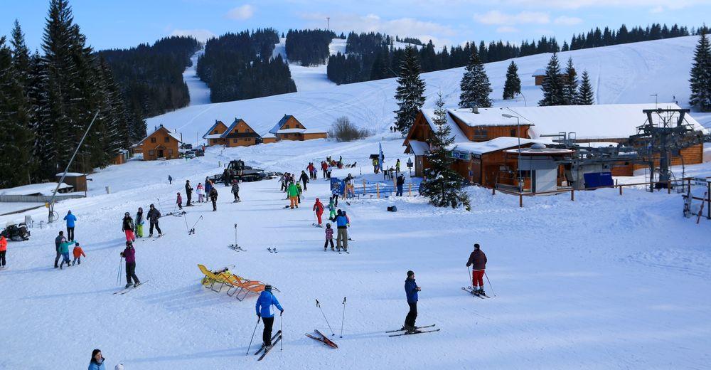 Planul pistelor Zonă de schi Orava Snow - Oravská Lesná