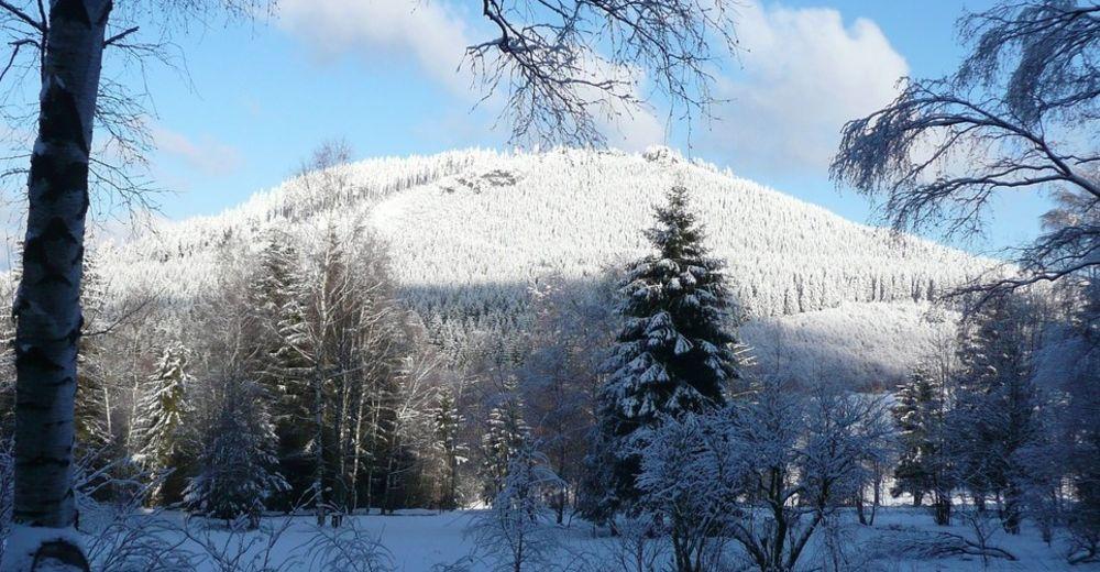 Planul pistelor Zonă de schi An der Kniebreche / Steinbach-Hallenberg
