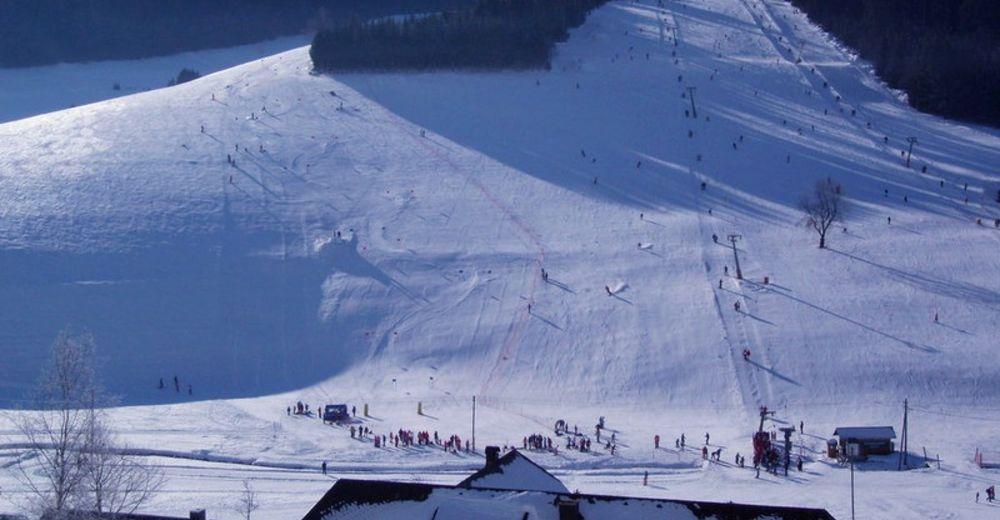 Pisteplan Skiområde Schneeberglifte Waldau