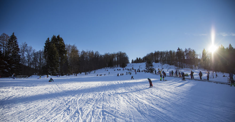 Pistenplan Skigebiet Bödefeld - Hunau / Schmallenberg
