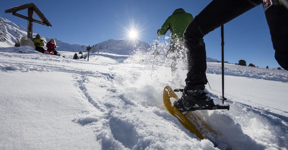 Pistenplan Skigebiet Maseben - Langtaufers - Reschenpass