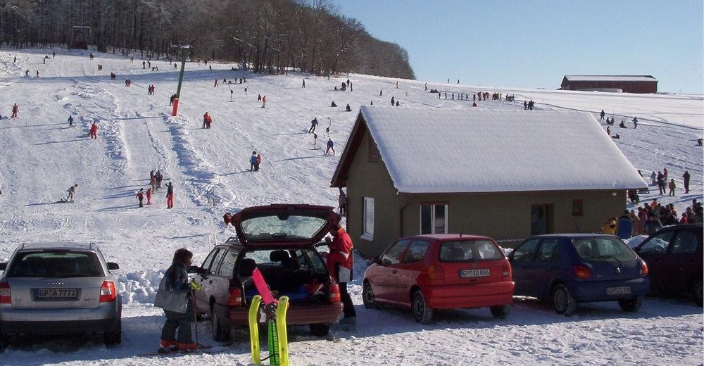 Bakkeoversikt Skiområde Waldskilift Schnittlingen