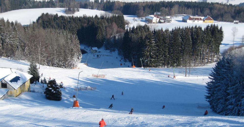 Pistenplan Skigebiet Hansberg