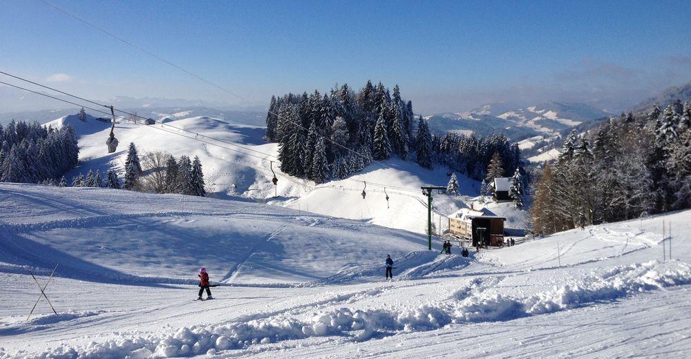 Plan skijaških staza Skijaško područje Schwellbrunn