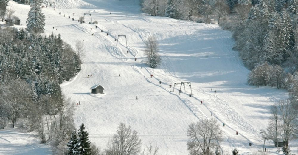 План лыжни Лыжный район Skilift Halblech