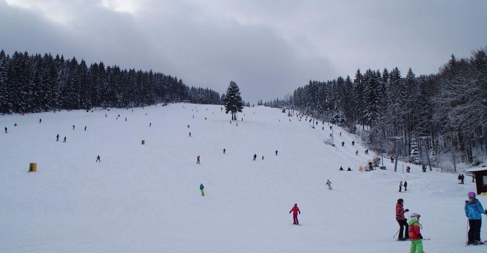 Pistenplan Skigebiet Klausenlift Mehlmeisel